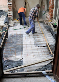 Reinforcing in place