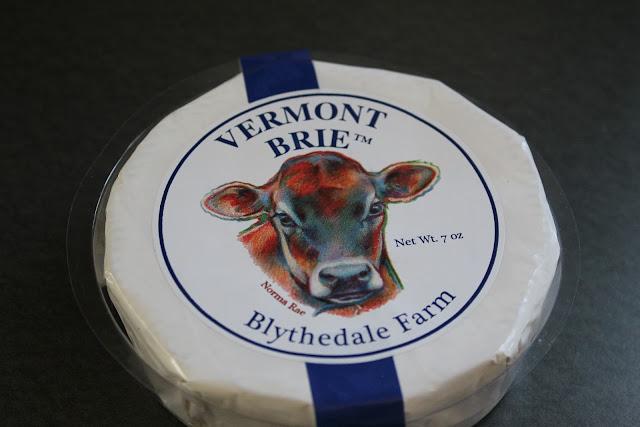 Brie cheese wheel