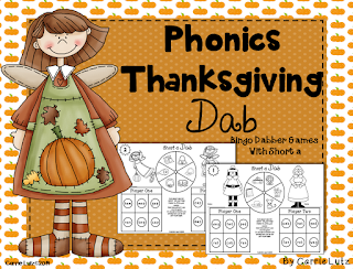 Thanksgiving Dab ~ Short Vowels