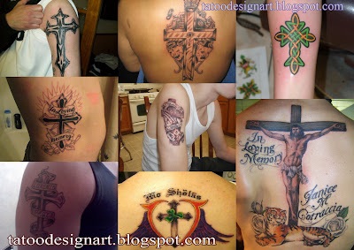 Cross Tattoo Ideas - Cross Tattoo Picture Gallery