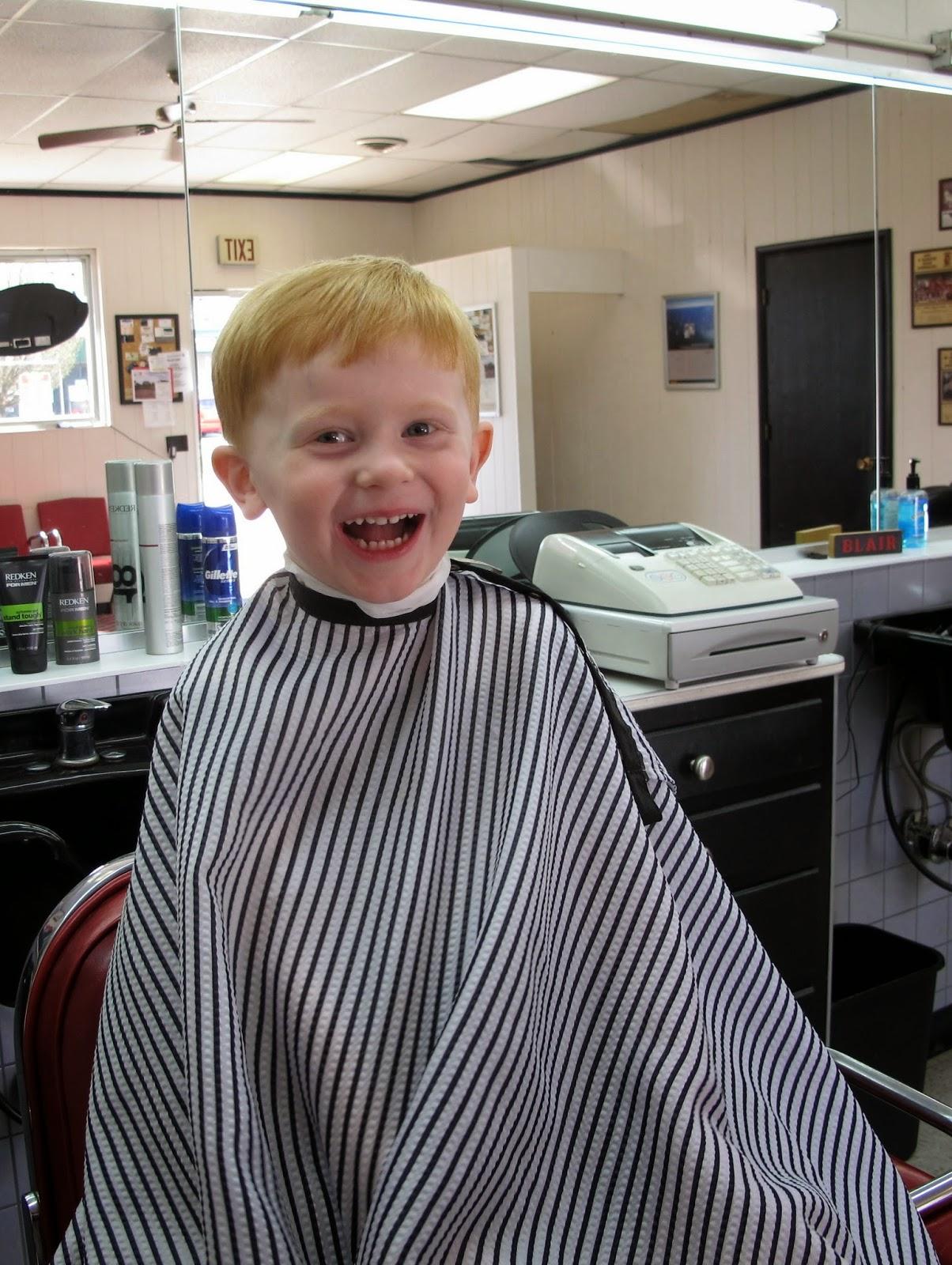Porter's Hair Cut