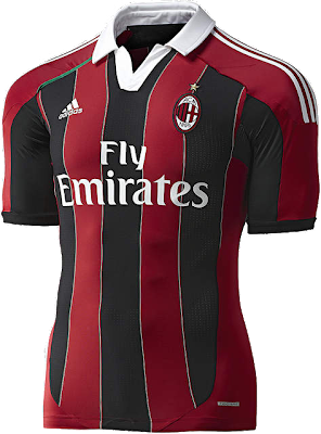 home kit AC Milan 2012/2013