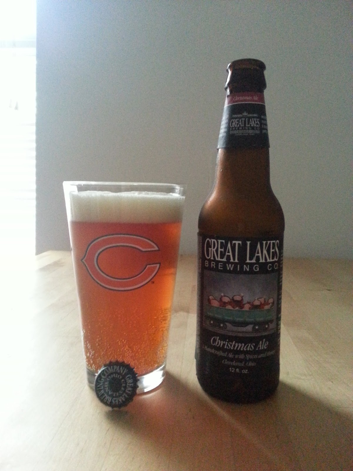 Great Lakes Brewing Company - Christmas Ale | I Love The Sauce
