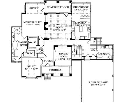 Mediterranean Courtyard House Plan 33501eb also Bathroom Floor Plans With Laundry likewise dreamhomedesignusa in addition V shaped ranch style house plans together with 2d And 3d Floor Plan Design. on hacienda homes