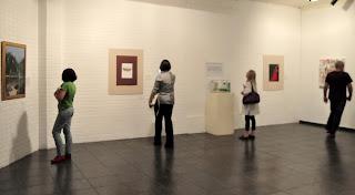 Montada na galeria, a mostra Arte Lida foi outro ponto alto da Semana Literária