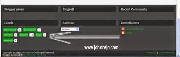cara membuat (membikin) gadget kategori (label) pada blog dengan mudah