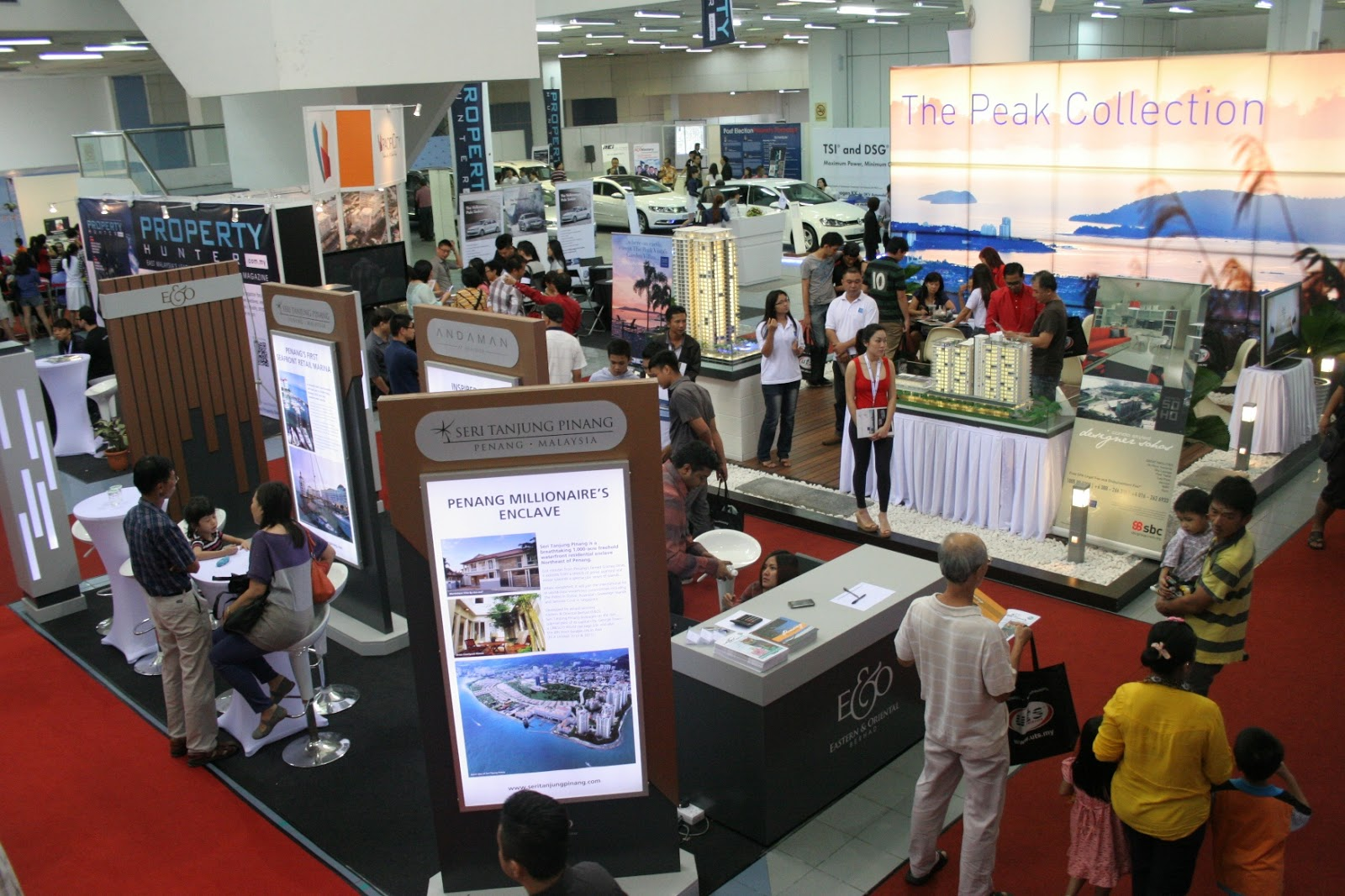 Property Exhibition Booth : Everyday food i love rm million worth of property sold at the