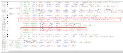 Yeni HTML Şablonu ve Bulunamayan Kodlar