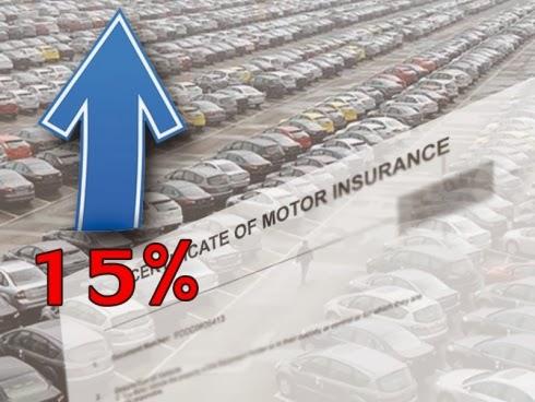 insuran kenderaan naik, harga baru kereta, kereta insuran, harga insuran naik, myroadtax.com, harga baru insuran kereta