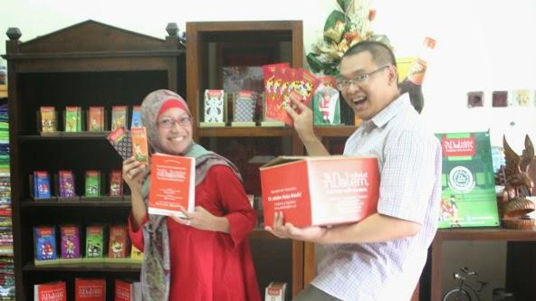 Coklat Ndalem Jogjakarta : Meika Hazim dan Wednes Aria Yudha