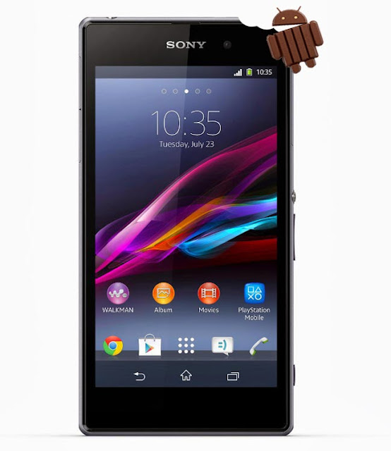 Xperia Z1 with Android 4.4