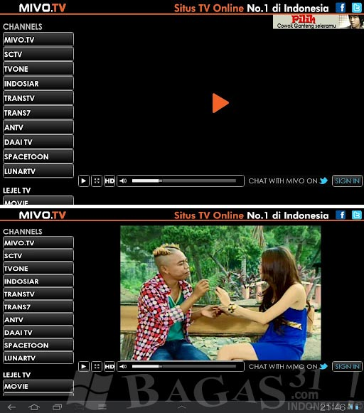 Mivo.TV - Live Streaming for Android 2