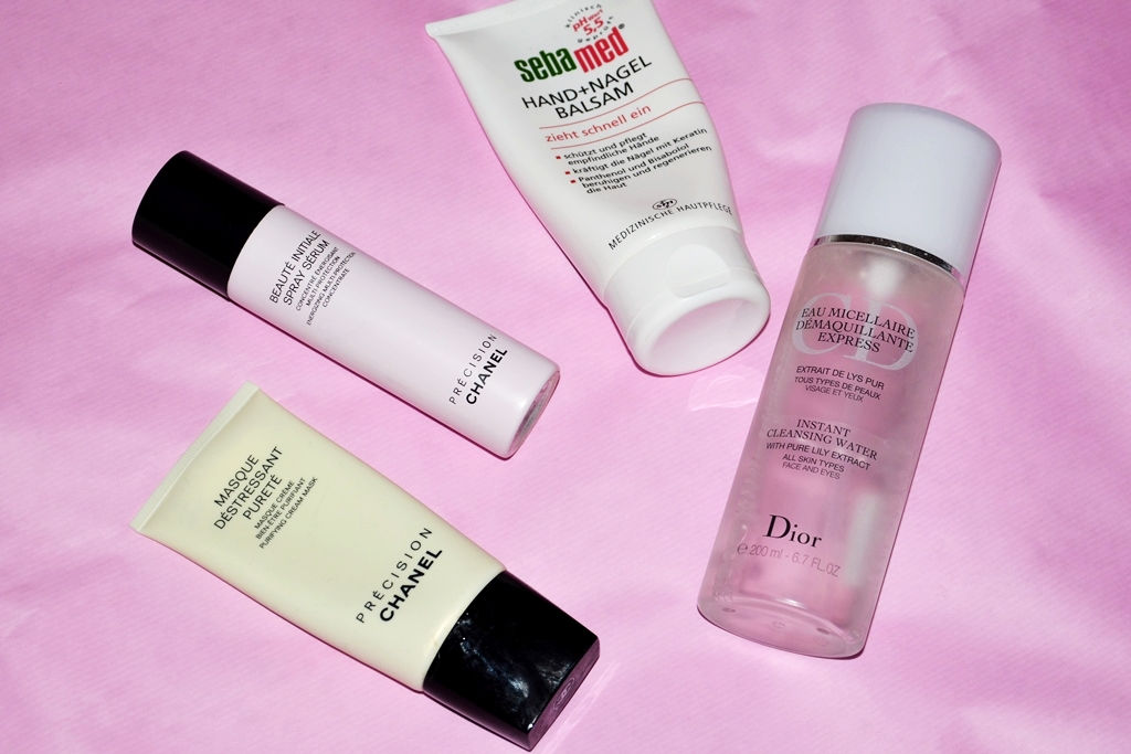 Wasted money for beauty products chanel, dior, sebamed