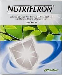 kelebihan dan kebaikan nutriferon shaklee