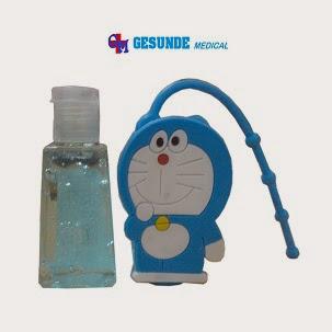 mau beli gel antiseptic kartun
