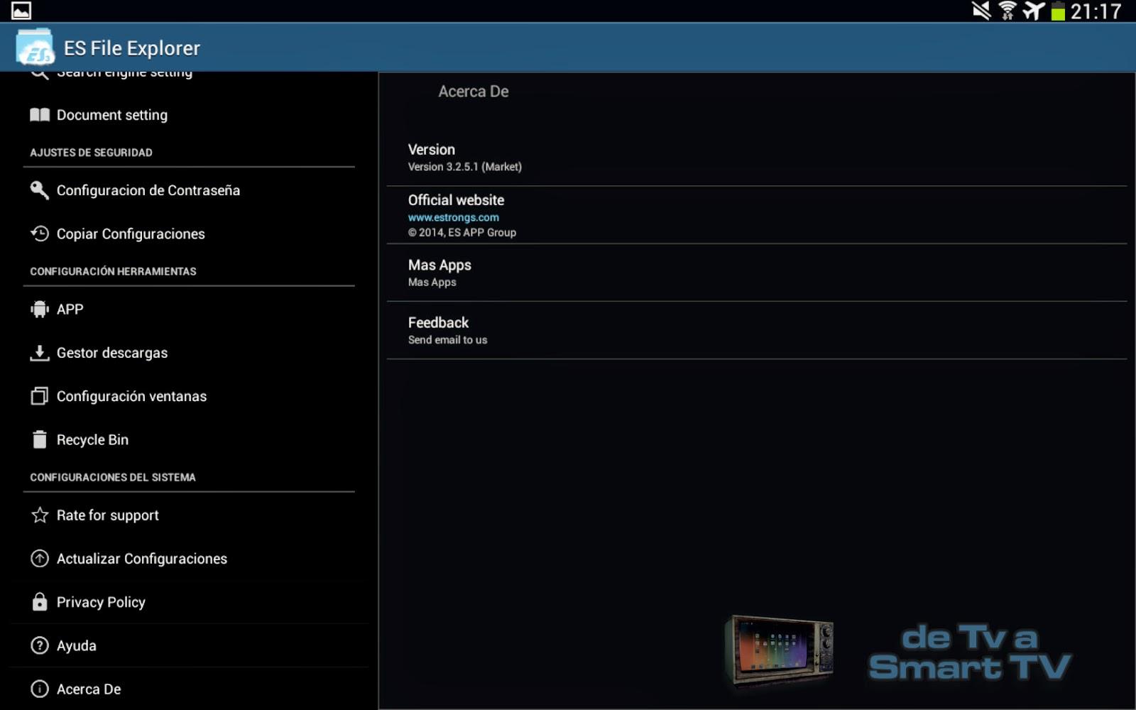 ES File Explorer - De TV a SmartTV