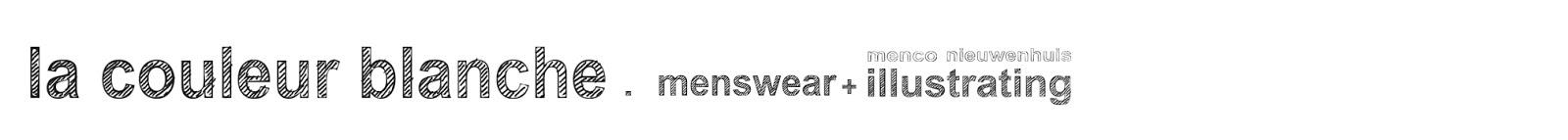 la couleur blanche // menco nieuwenhuis menswear blog