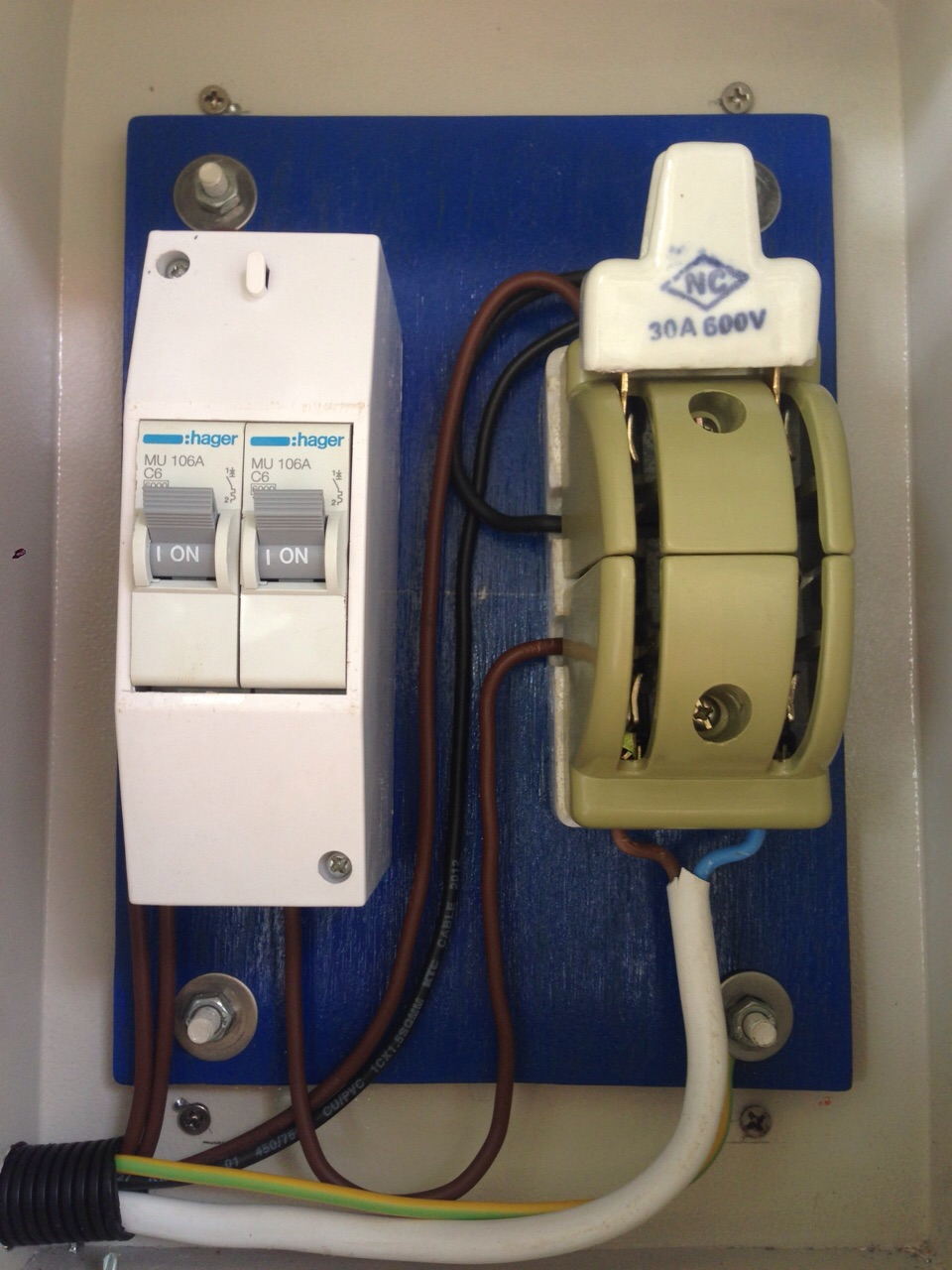 Missions Community Projects Solar Power For Pkh Aoral Office And 2 Way Generator Switch A To Either Use The Or Supply