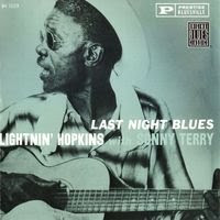 Lightnin' Hopkins & Sonny Terry - Last Night Blues (1961)