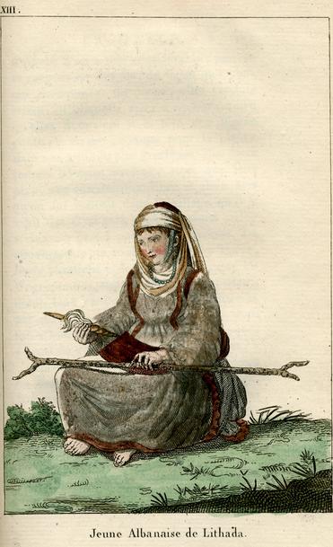 Jeune Albanaise de Lithada(Εuboea-Greece)