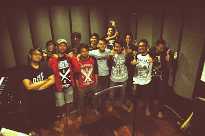 ETB on recording session