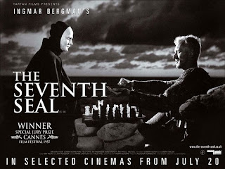 cinema history the seventh seal The seventh seal is a black and white swedish drama, from 1957, in which a knight returns home from the crusades to find the plague sweeping his country and the figure of death waiting for him.