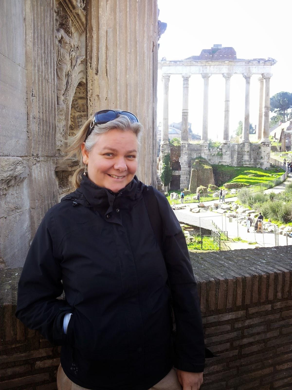 Svensk guide i Vatikanen