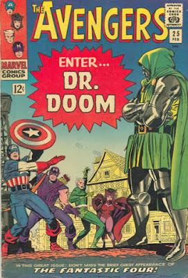 Avengers #25, Dr Doom