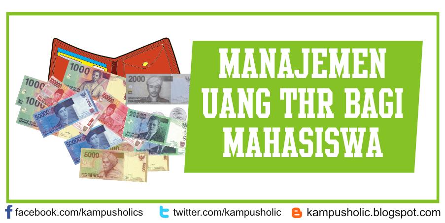 Manajemen uang thr bagi mahasiswa