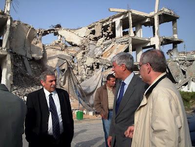 Deputados brasileros testemunham destruição na palestina
