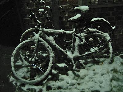 Fahrräder in Lüneburg, Foto Peter Krisp