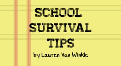 Surviving School Tip #1: School Supplies