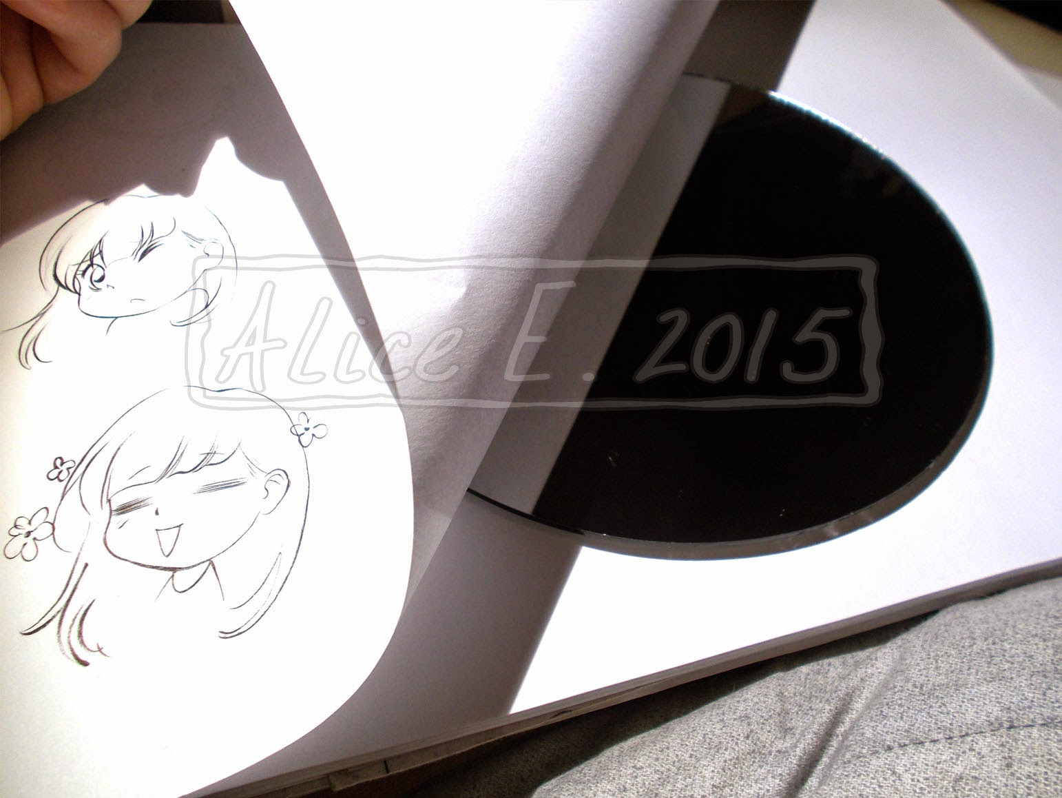Copic italia tutorial gradi di assorbimento della carta - Lo specchio di carta ...