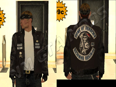 Skin SOA OF ANARCHY - DOWNLOAD PACK 1