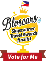 Best Travel Blog 2014:     2nd Runner Up