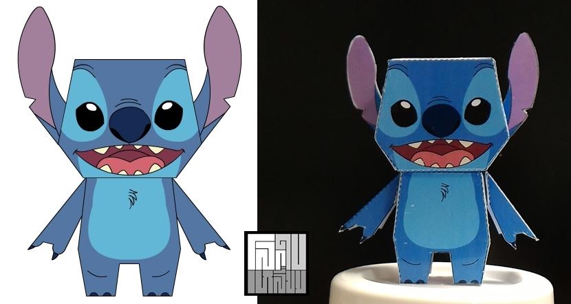 Stitch Cute Paper Toy