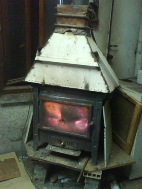 Tecnolog a para un progreso sostenible proyecto calefacci n mediante madera i - Como colocar una chimenea de lena ...