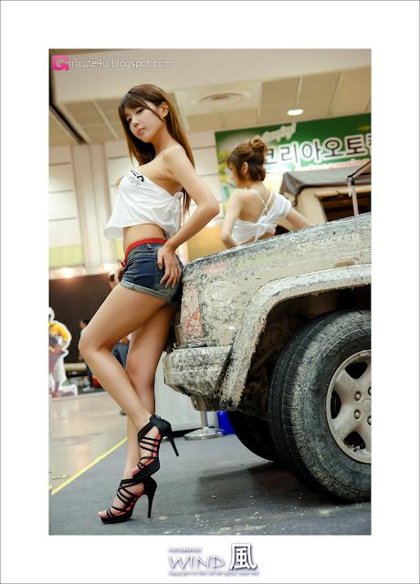 3 Heo Yoon Mi at Korea Autocamping Show 2012-very cute asian girl-girlcute4u.blogspot.com
