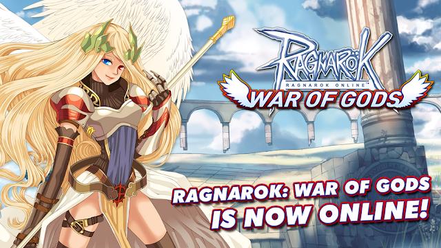 Mobile MMORPG Ragnarok: War of Gods now Live on Android