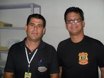 Valdi Salles e o Dr. Delegado Regional de Brejo da Madre de Deus, Antonio Dultra