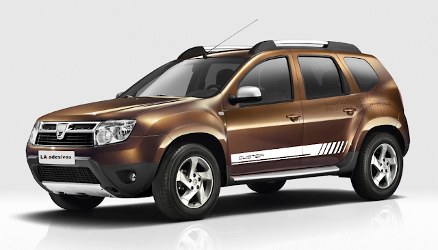 kit adesivo para renault duster dynamique expression out door tech road