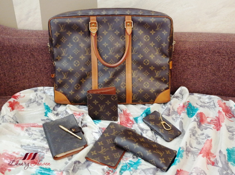 louis vuitton monogram porte documents voyage lv wallets
