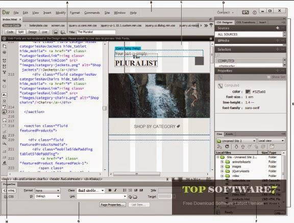 Adobe Dreamweaver CC 2014
