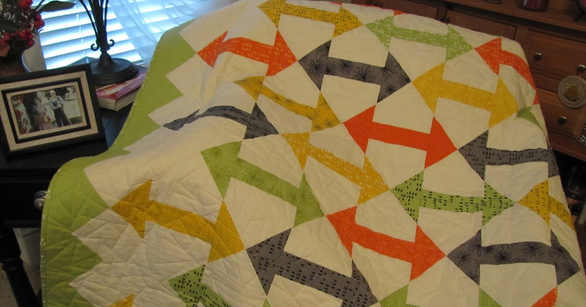 Bountiful Heirlooms: Newest Finish: Malcolm s Quilt