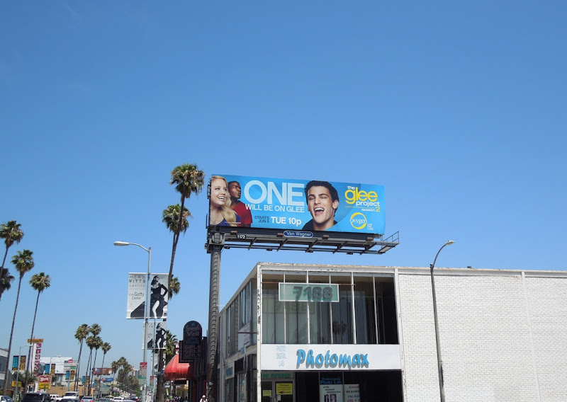 Glee Project season 2 boy billboard