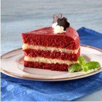 Siapa yang tak tergoda mencoba red velvet brownis lapis keju ini ...
