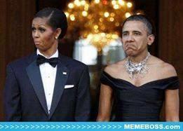 Gambar Lucu Editan Foto Presiden Obama