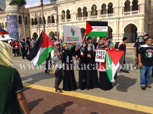 perhimpunan aman selamatkan anak-anak gaza, perhimpunan sokong palestin, gambar-gambar sekitar perhimpunan aman selamatkan anak-anak gaza,