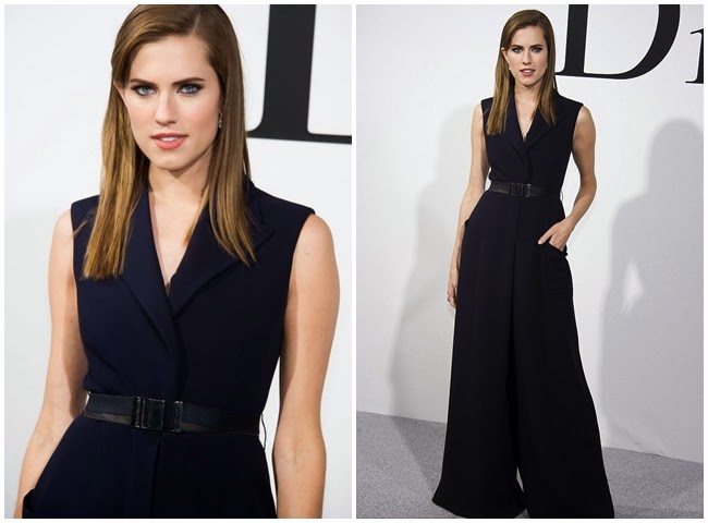 Golden Melody Awards 2014:Jeannie Hsieh in Dior Pre Fall 2014 cf. Allison Williams