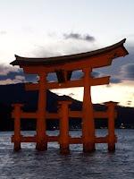 "el ""torii"" de Miyajima"